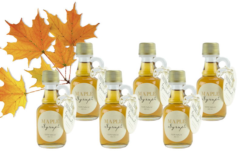 Maple Syrup Nip Set Six
