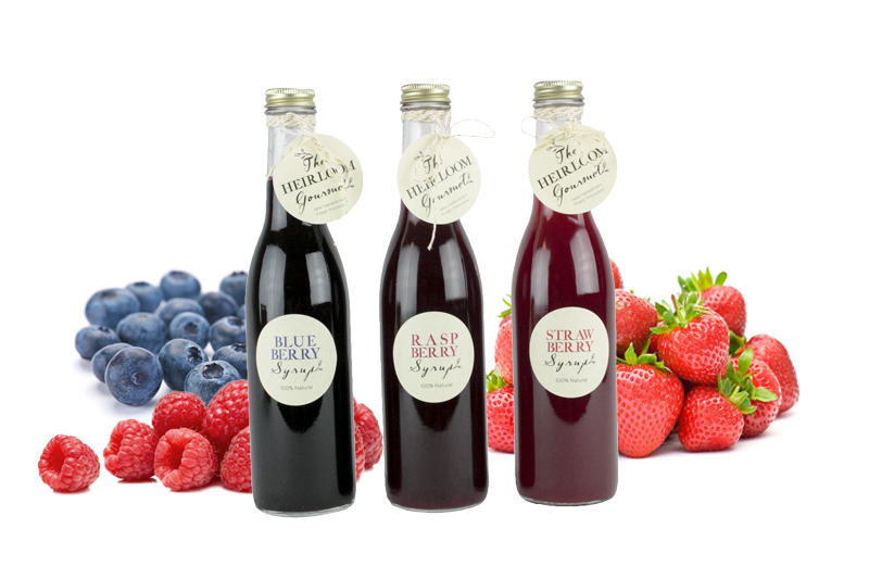 Berry Syrup Set